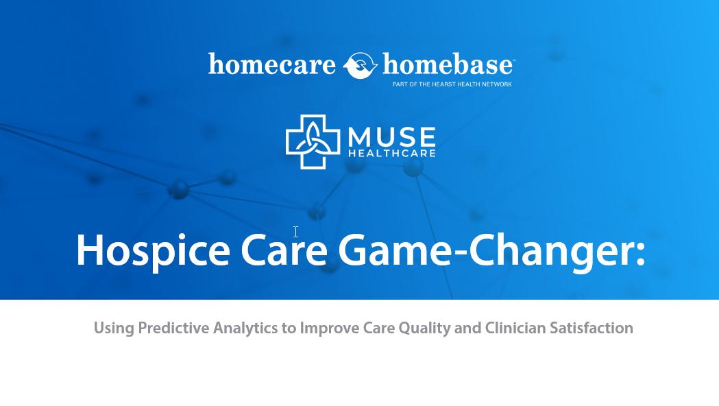 hospice predictive analytics banner